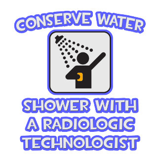 Conserve Water .. Shower With Radiologic Tech