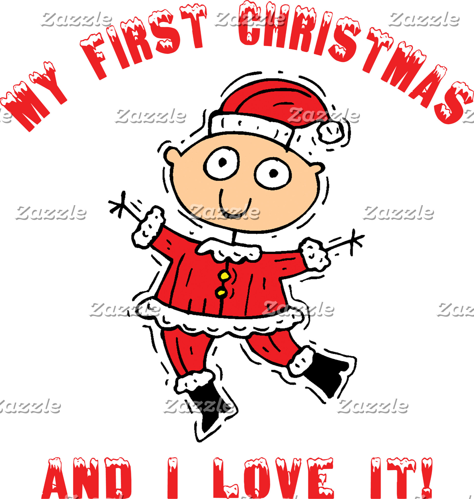 First Christmas Baby T-Shirts Gifts Cards