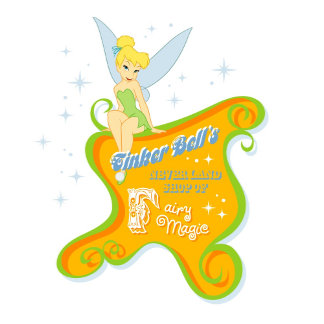Tinker Bell sitting