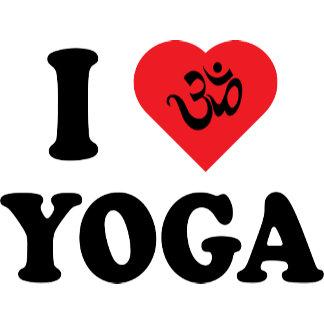I Love Yoga T-Shirt Gifts