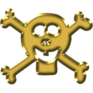 Skull ties