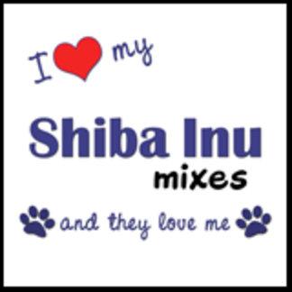 I Love My Shiba Inu Mixes (Multiple Dogs)