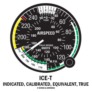 ICE-T Indicated, Calibrated, Equivalent, True