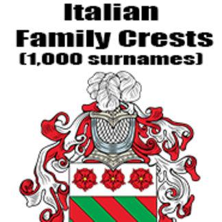 Italian Family Crests