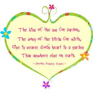 God is Nearer in a Garden