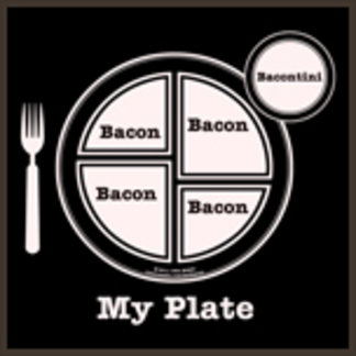 My Plate Bacon