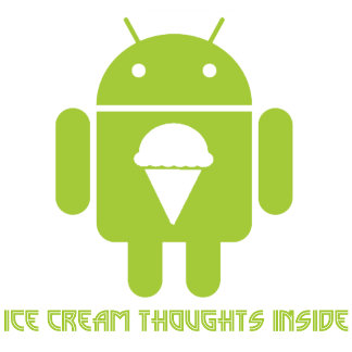 Ice Cream Thoughts Inside (Android Bug Droid)