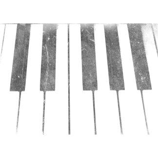 electric keyboard keys grunge scratch music.