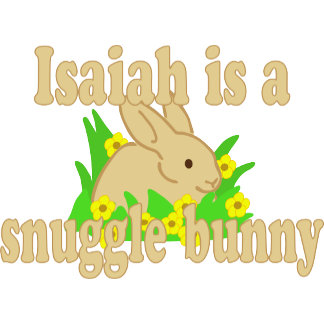 Isaiah is a Snuggle Bunny