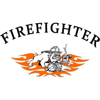 Firefighter Bull Dog Tough