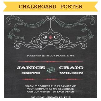 Chalkboard Poster