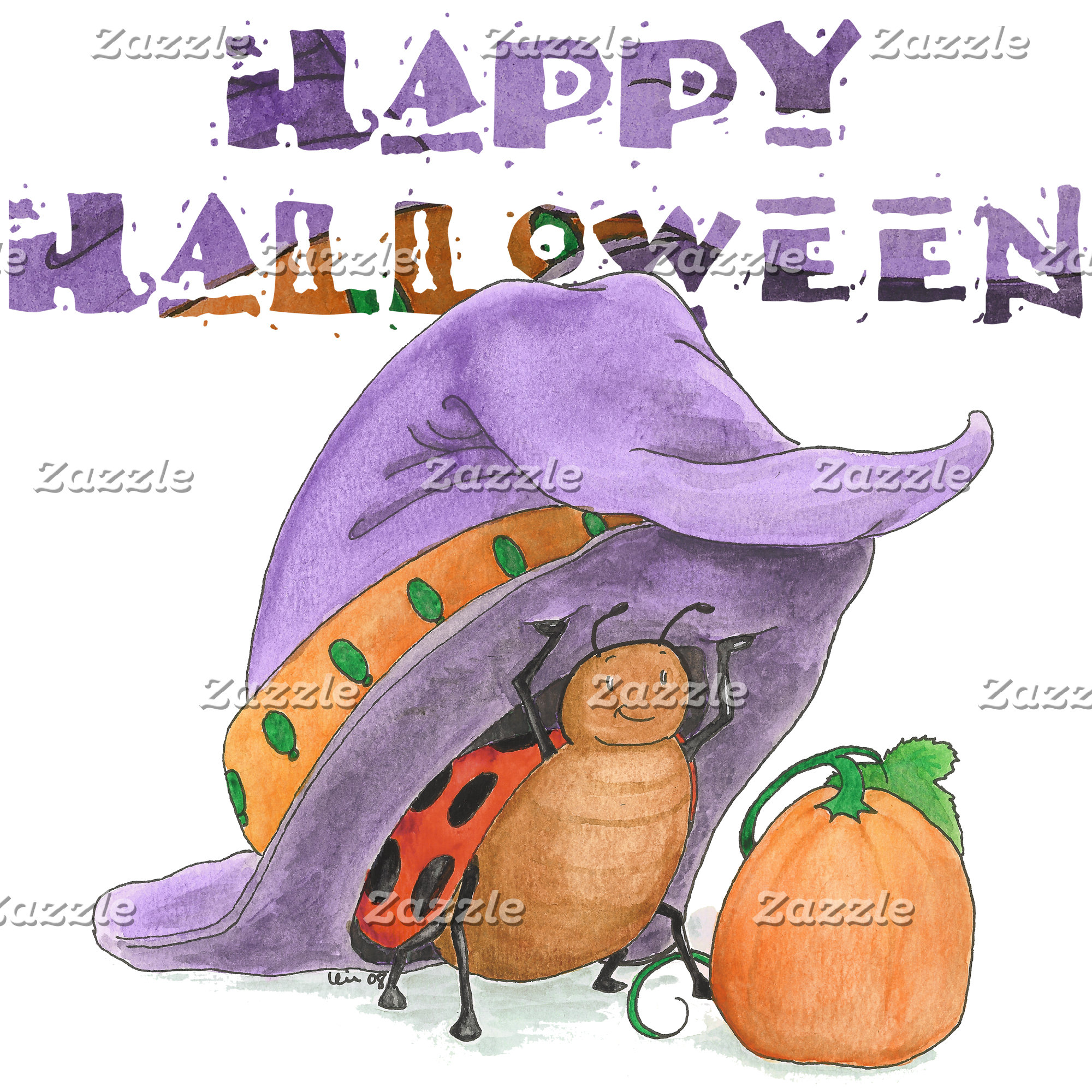LadyBug's Witchy Hat (Happy Halloween!)