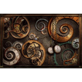 Steampunk - Abstract - Time is complicated