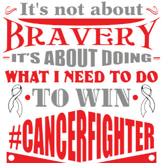 Lung Cancer Not About Bravery