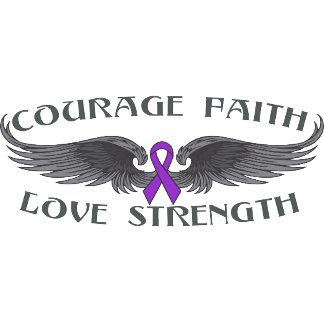 Epilepsy Courage Faith Wings