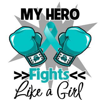 My Hero Fights Like a Girl Ovarian Cancer