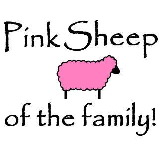 Pink Sheep of the Family!