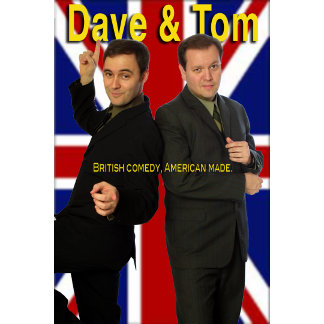 Dave and Tom Comedy Actors