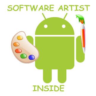 Software Artist Inside (Bugdroid Brush Palette)