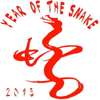Year Of The Snake - Red