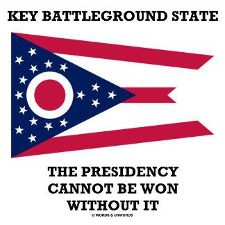Key Battleground State Presidency Cannot Ohio Flag