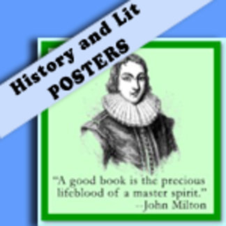 HISTORIC AND LITERARY POSTERS