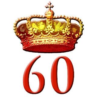 Diamond Jubilee 60 Years with Crown