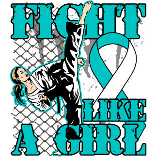 Cervical Cancer Fight Like A Girl Kick