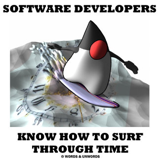 Software Developers Know How To Surf Through Time
