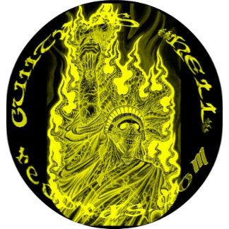 GAHrecords Yellow on Black Logo Merchandise