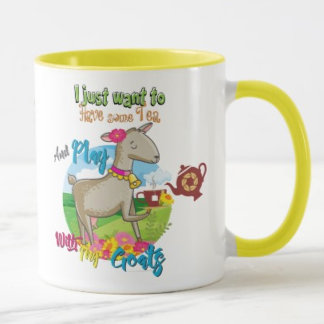 Have Tea And Play with Goats