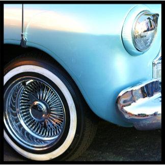 Classic Blue Car 3