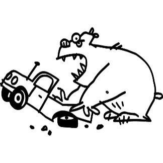 Truck-Smashing Bear