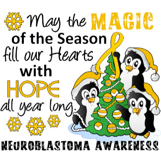 Christmas Penguins Neuroblastoma