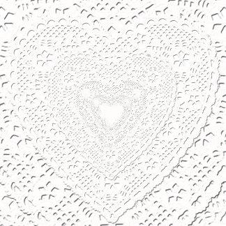 Fabric - White Lace