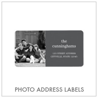 Photo Address Labels