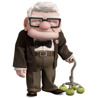 Carl from the Disney Pixar UP Movie 2
