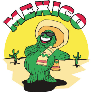 Funny Mexico T-Shirt Gift Cards