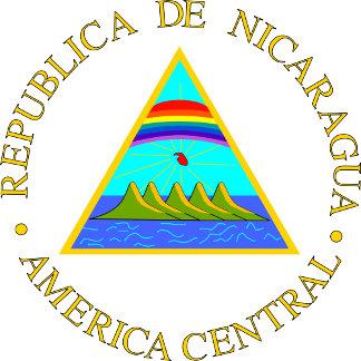 Nicaragua Coat of Arms detail