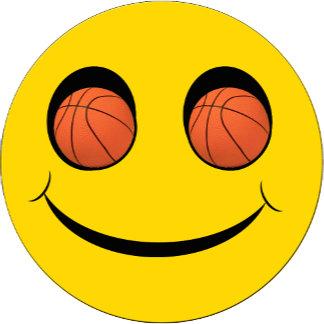 SMILEY FACE SPORTS BASKETBALL