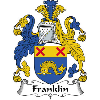 Franklin Family Crest / Coat of Arms
