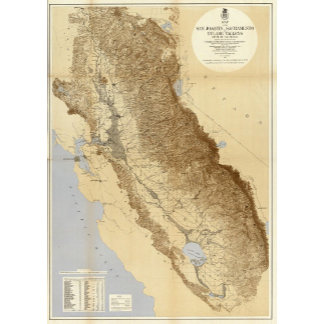Map Of The San Joaquin