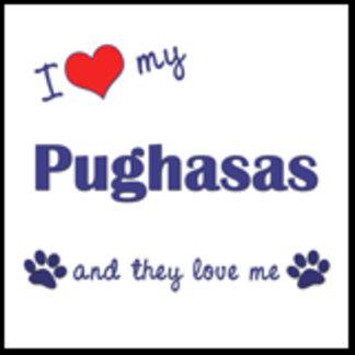 I Love My Pughasas (Multiple Dogs)