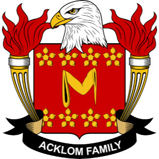 Acklom Coat of Arms