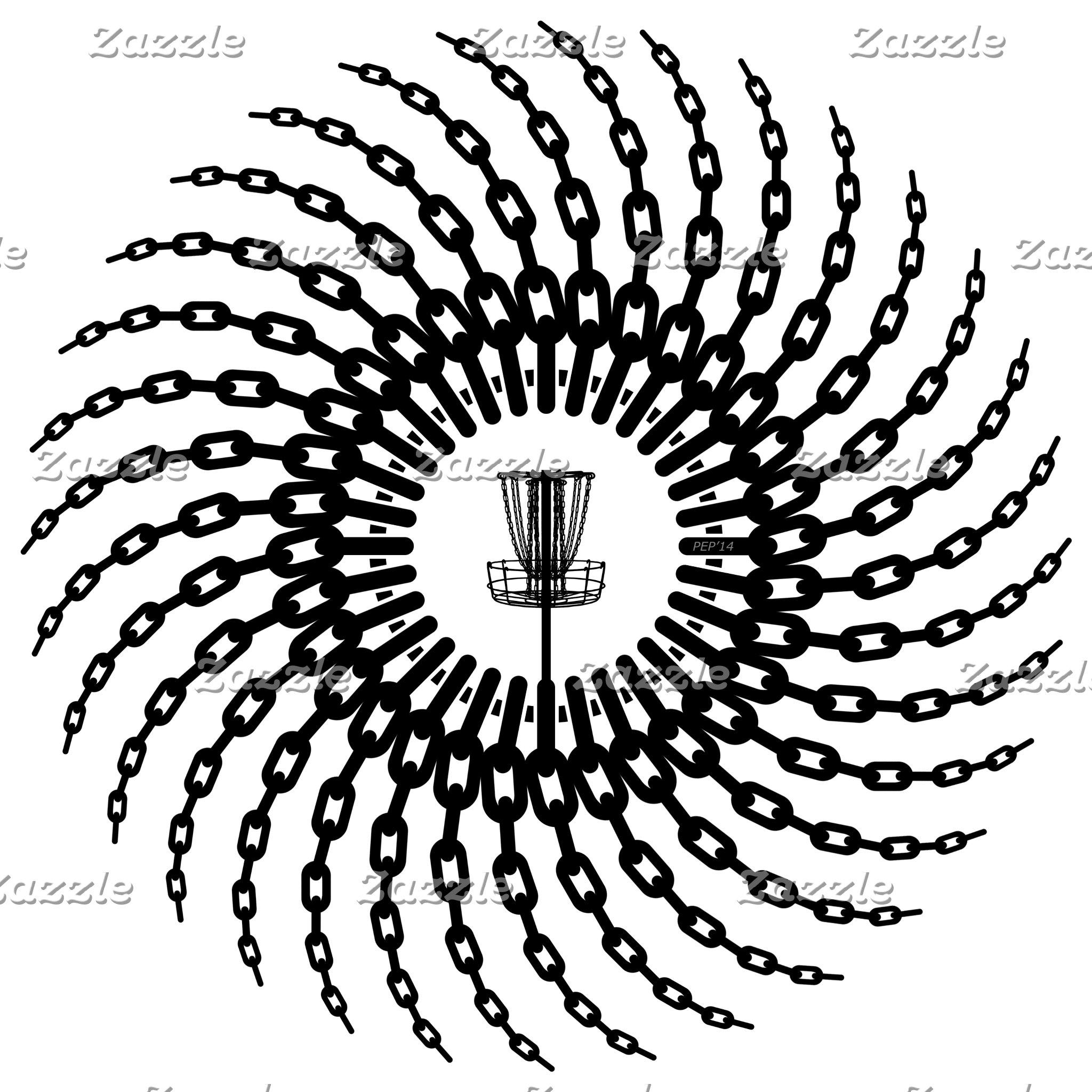 Disc Golf Basket Chains