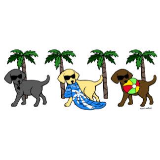 Beach Party Labradors