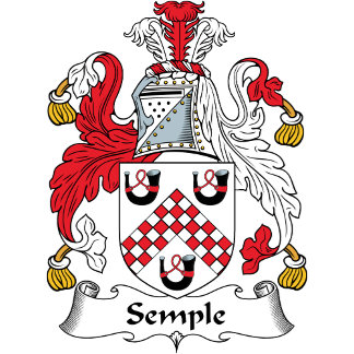 Semple Family Crest