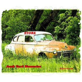 Dodge Junk Yard Car