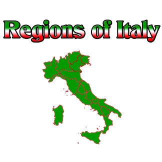 Italian Regions. All regions of Italy.