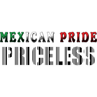 Mexican Pride Priceless T-Shirt Gift Cards